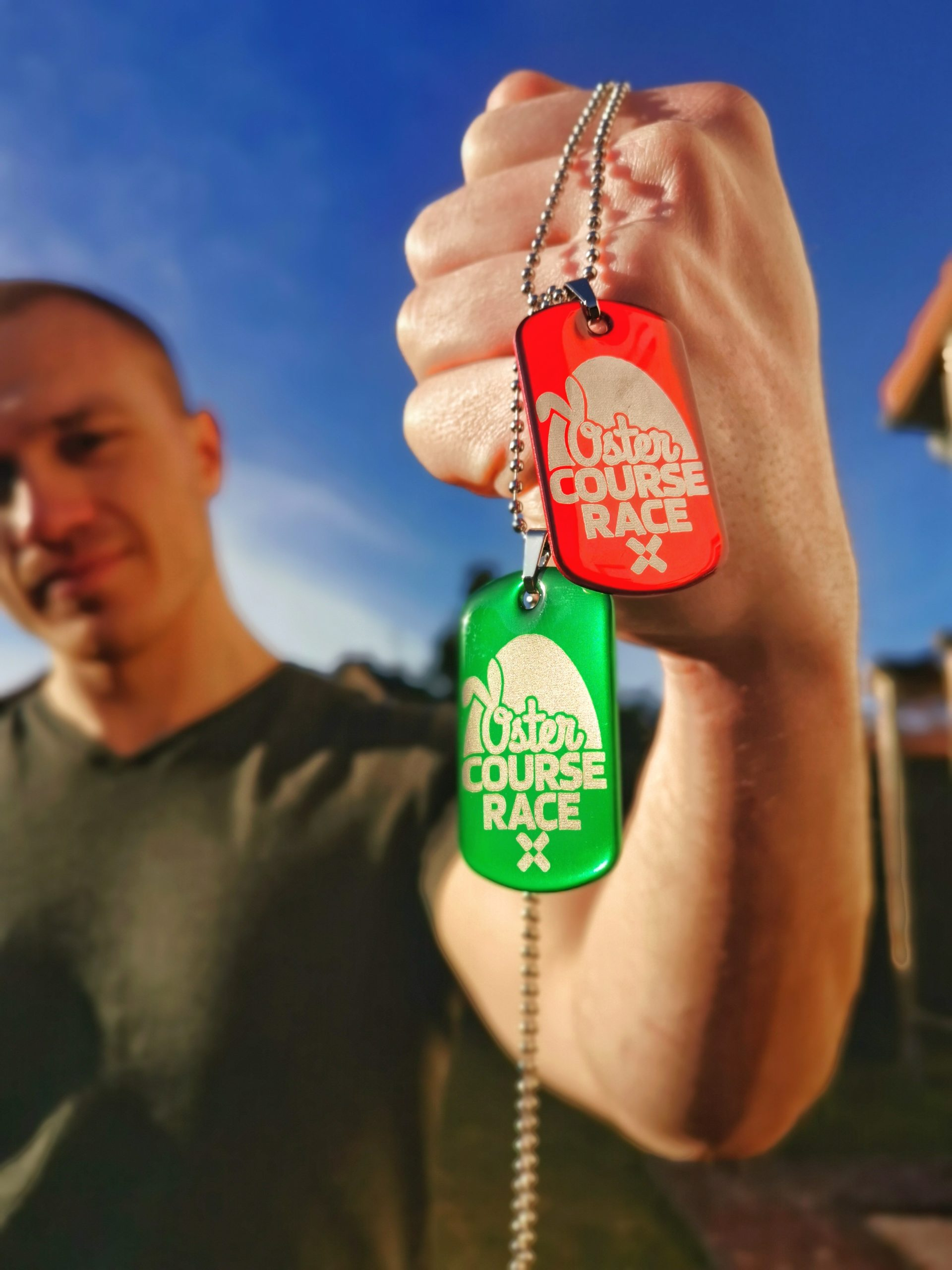 Oster Course Race 2021 Podcast OCR Dogtags